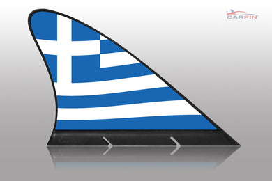 Greece Car Flag CARFIN , Magnetic Car flags and signs. - Carfin