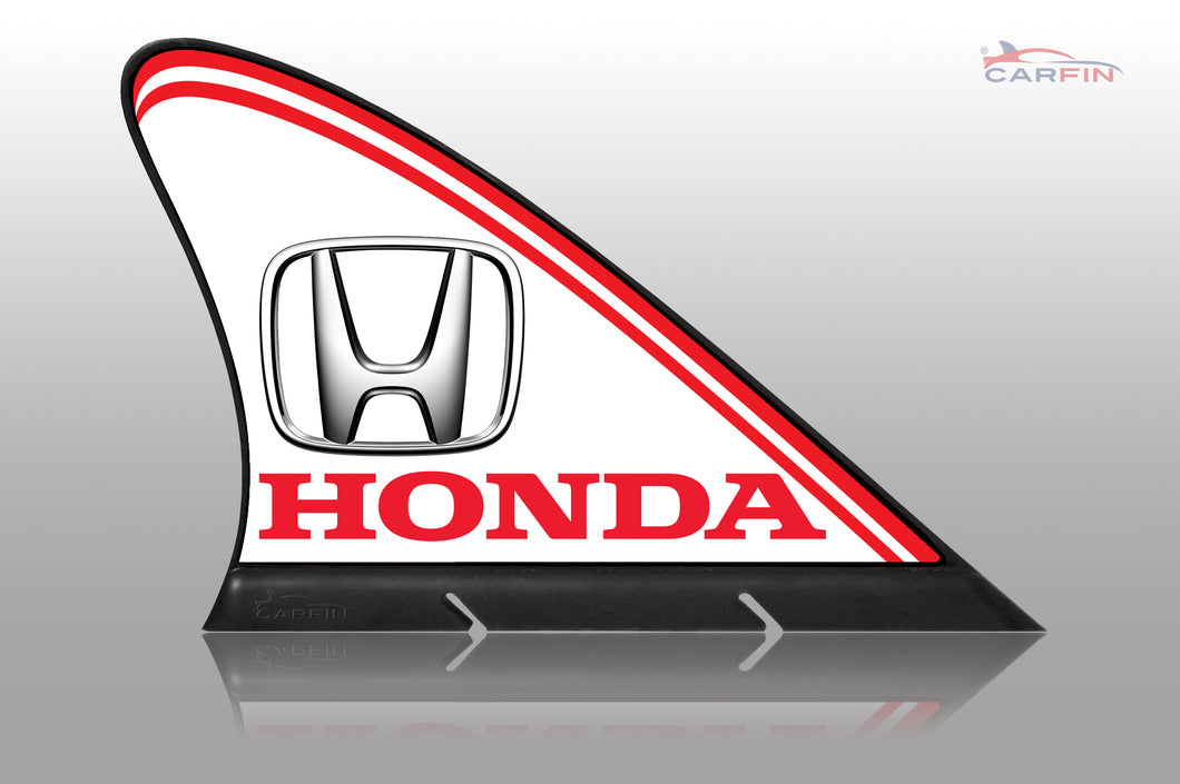 Honda Car Flag CARFIN , Magnetic Car signs.