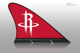 Houston Rockets Car Flag, CARFIN  Magnetic Car Flag. - Carfin