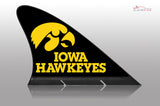Iowa Hawkeyes Car Flag, CARFIN  Magnetic Car Flag. - Carfin
