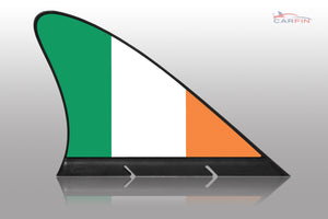 Irland Car Flag CARFIN , Magnetic Car flags and signs. - Carfin
