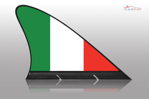 Italy Car Flag CARFIN , Magnetic Car flags and signs. - Carfin
