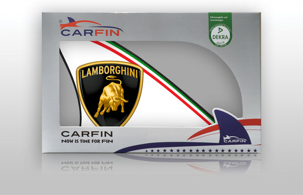 Lamborghini  Car Flag CARFIN , Magnetic Car signs. - Carfin