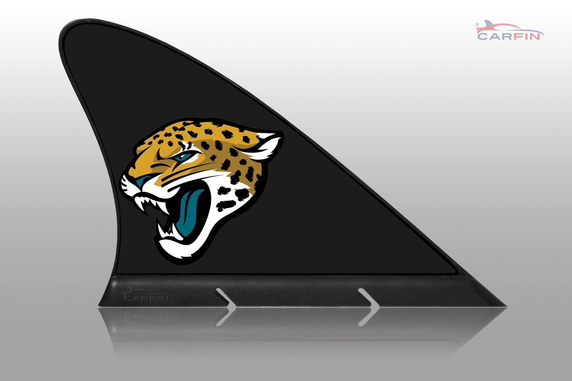 Jacksonville Jaguars Colts Car Flag, CARFIN  Magnetic Car Flag.