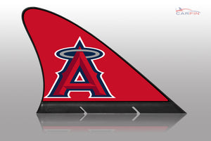 Los Angeles Angels Car Flag, CARFIN  Magnetic Car Flag. - Carfin