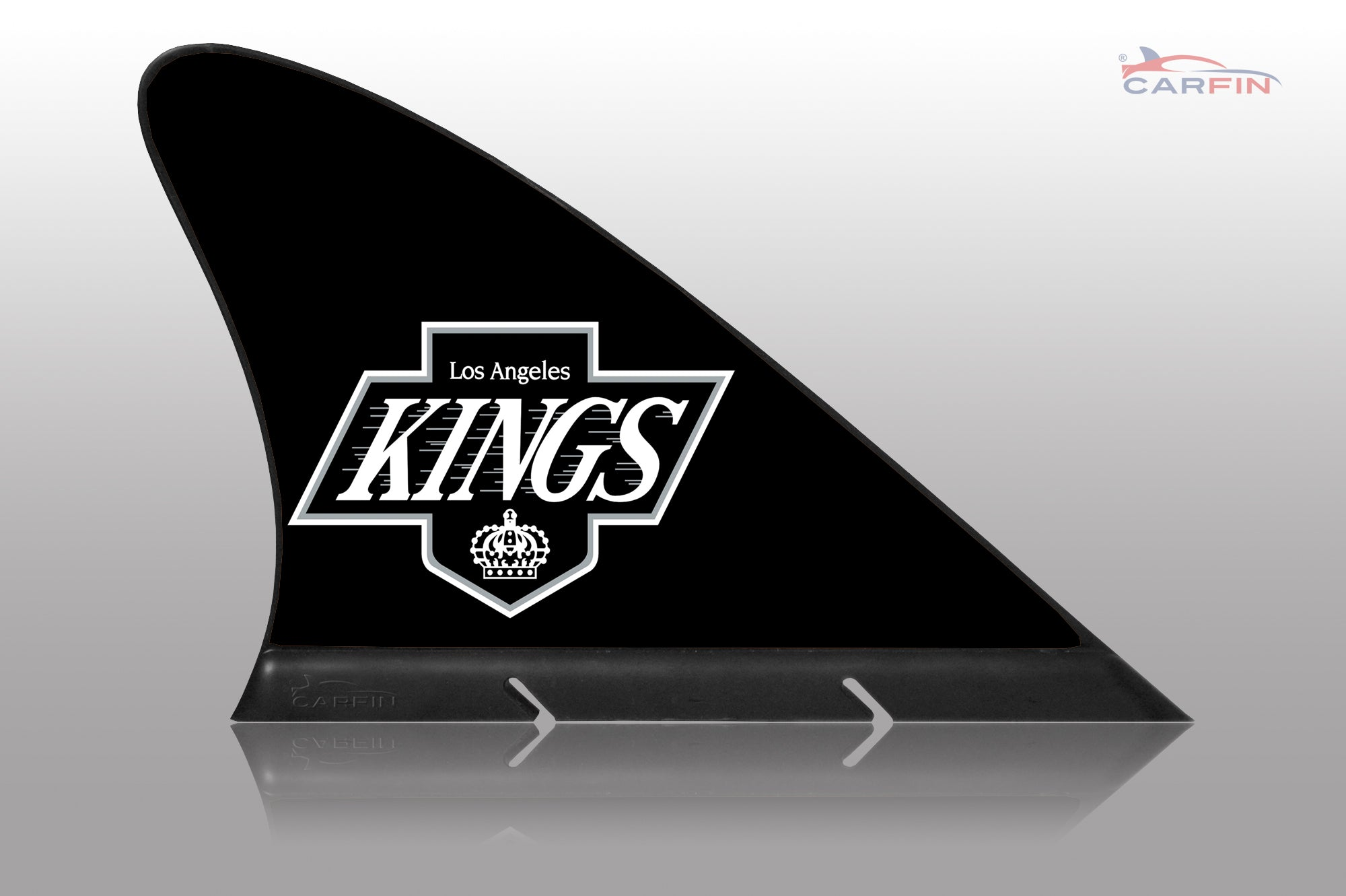 Los Angeles Kings Car Flag, CARFIN  Magnetic Car Flag. - Carfin