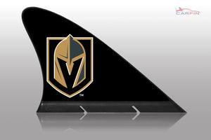 Vegas Golden Knights Car Flag, CARFIN  Magnetic Car Flag.