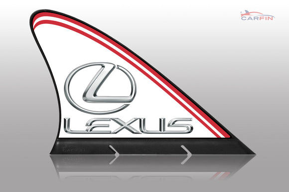 Lexus Car Flag CARFIN , Magnetic Car signs. - Carfin