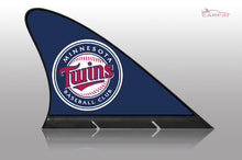 Minnesota Twins Car Flag, CARFIN  Magnetic Car Flag.