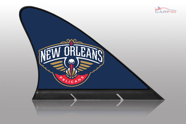 New Orleans Pelicans Car Flag, CARFIN  Magnetic Car Flag. - Carfin