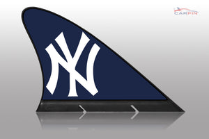 New York Yankees Car Flag, CARFIN  Magnetic Car Flag. - Carfin