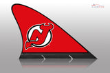 New Jersey Devils Car Flag, CARFIN  Magnetic Car Flag. - Carfin
