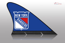 New York Rangers Car Flag, CARFIN  Magnetic Car Flag.