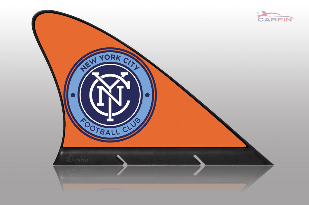 New York City FC Car Flag, CARFIN  Magnetic Car Flag.