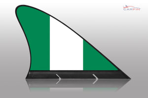 Nigeria Car Flag CARFIN , Magnetic Car flags and signs. - Carfin