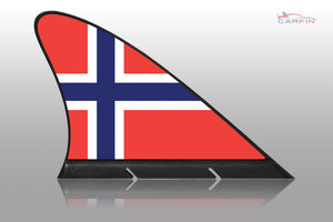 Norway Car Flag CARFIN , Magnetic Car flags and signs. - Carfin
