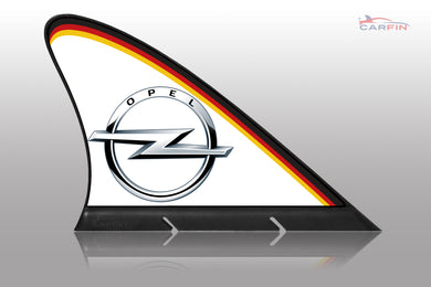 Opel Car Flag CARFIN , Magnetic Car signs.