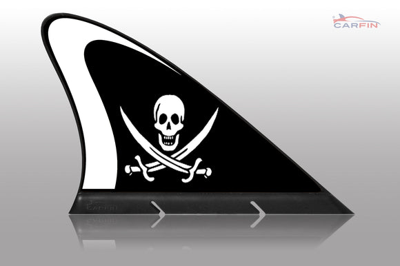 Pirate Car Magnetic Flags and Car Signs - Carfin