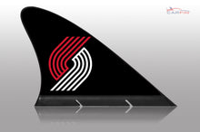 Portland Trail Blazers Car Flag, CARFIN  Magnetic Car Flag.