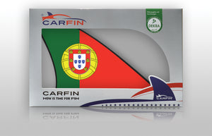 Portugal Car Flag CARFIN , Magnetic Car flags and signs. - Carfin
