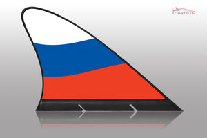 Russia  Car Flag CARFIN , Magnetic Car flags and signs. - Carfin