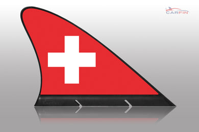 Swiss Car Flag CARFIN , Magnetic Car flags and signs. - Carfin