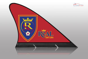 Real Salt Lake Car Flag, CARFIN  Magnetic Car Flag. - Carfin