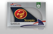 Scorpio Car Flag CARFIN , Magnetic Car signs. - Carfin