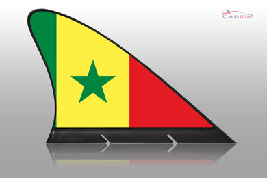 Senegal  Car Flag CARFIN , Magnetic Car flags and signs. - Carfin