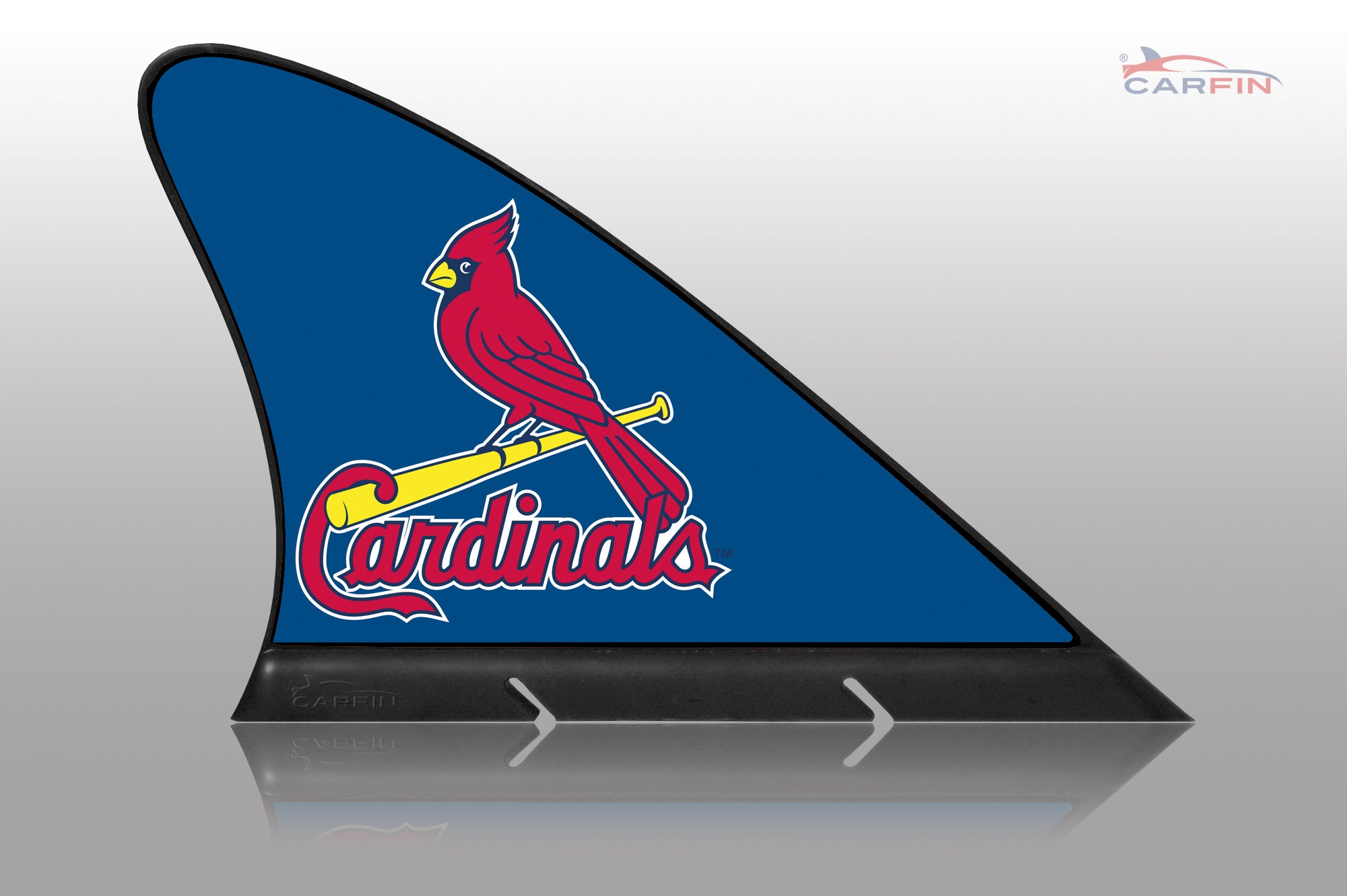 St. Louis Cardinals Car Flag, CARFIN  Magnetic Car Flag. - Carfin