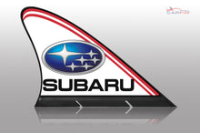 Subaru Car Flag CARFIN , Magnetic Car signs.