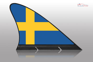 Sweden Car Flag CARFIN , Magnetic Car flags and signs. - Carfin
