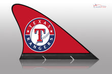 Texas Rangers Car Flag, CARFIN  Magnetic Car Flag.