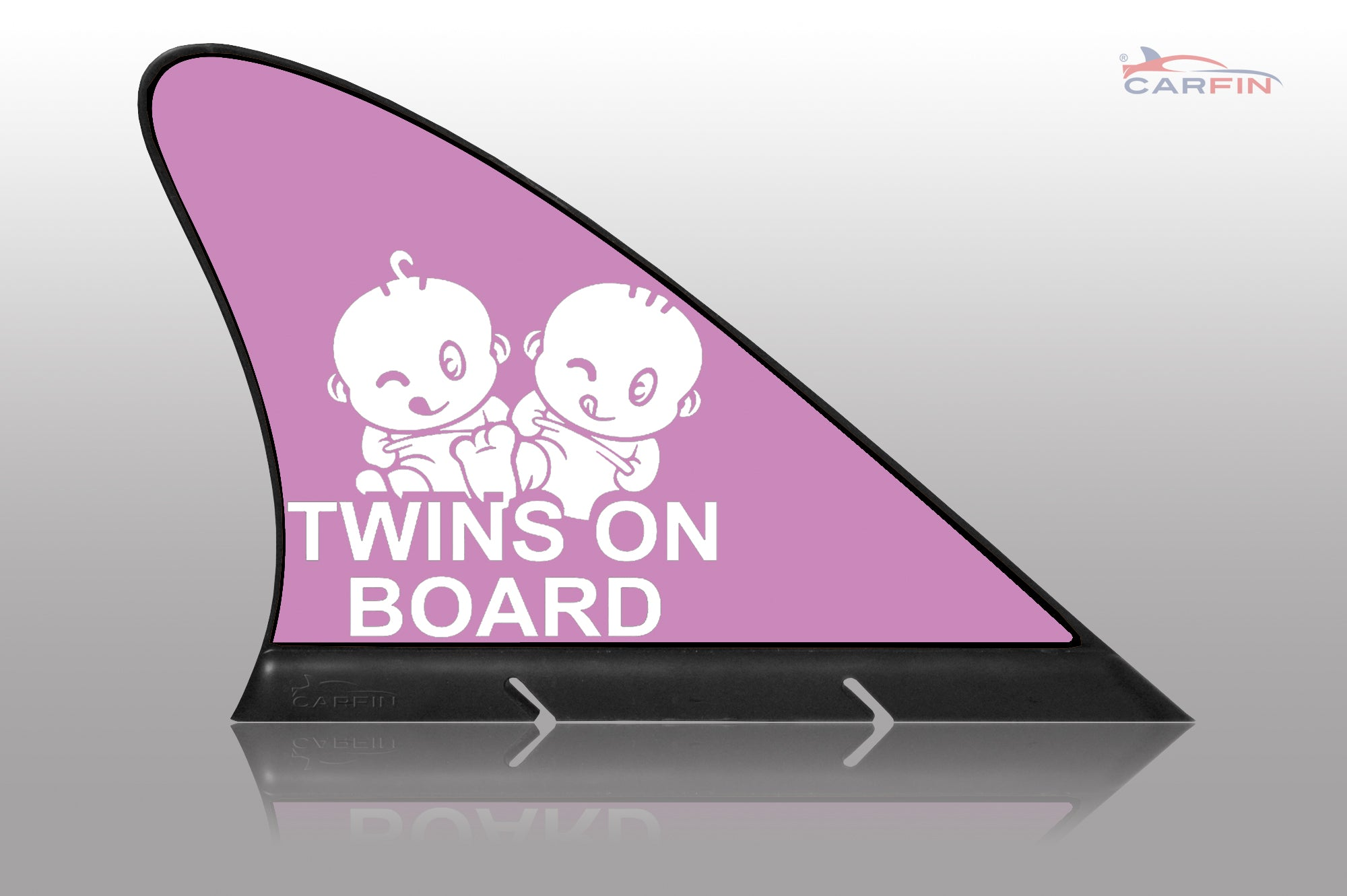 Girl Twins on Board Car Signs and Car Magnetic Flags