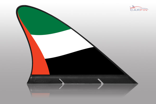 United Arab Emirates Car Flag CARFIN , Magnetic Car flags and signs. - Carfin