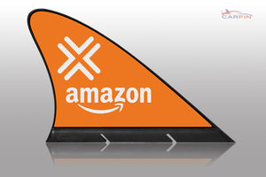 Amazon FLEX Car Flag CARFIN , Magnetic Car signs.