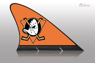 Anaheim Ducks Car Flag, CARFIN  Magnetic Car Flag.