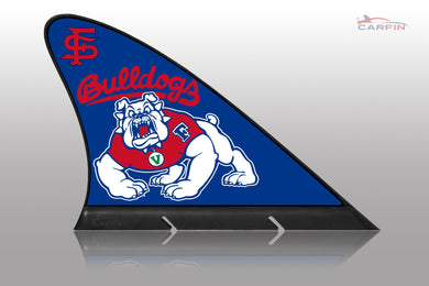 Fresno State University Car Flag, CARFIN  Magnetic Car Flag. - Carfin