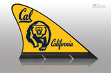 CAL University of California Berkeley Car Flag, CARFIN  Magnetic Car Flag. - Carfin