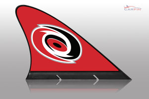 Carolina Hurricanes Car Flag, CARFIN  Magnetic Car Flag. - Carfin