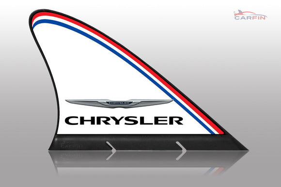 chrysler Car Flag CARFIN , Magnetic Car signs. - Carfin
