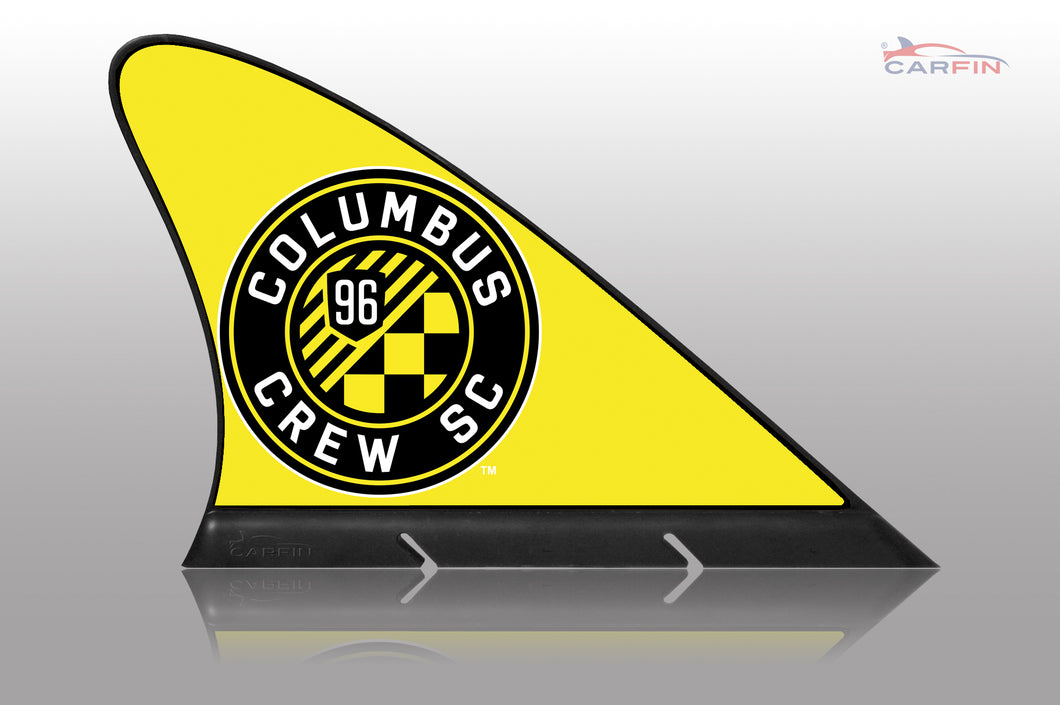 Columbus Crew SC Car Flag, CARFIN  Magnetic Car Flag.
