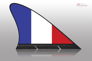 France Car Flag CARFIN , Magnetic Car flags and signs. - Carfin