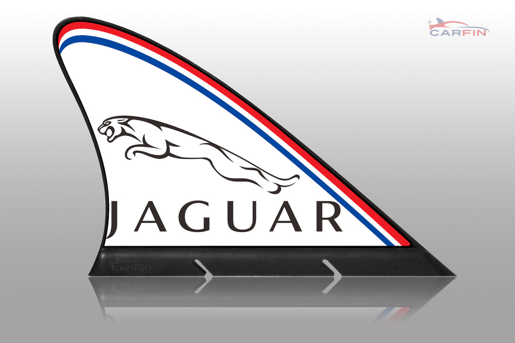 Jaguar Car Flag CARFIN , Magnetic Car signs.