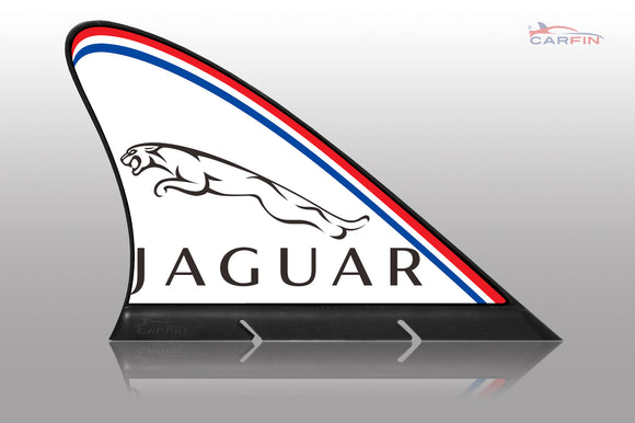 Jaguar Car Flag CARFIN , Magnetic Car signs. - Carfin