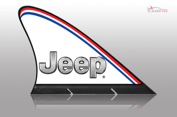 Jeep Car Flag CARFIN , Magnetic Car signs. - Carfin