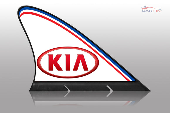 KIA Car Flag CARFIN , Magnetic Car signs. - Carfin