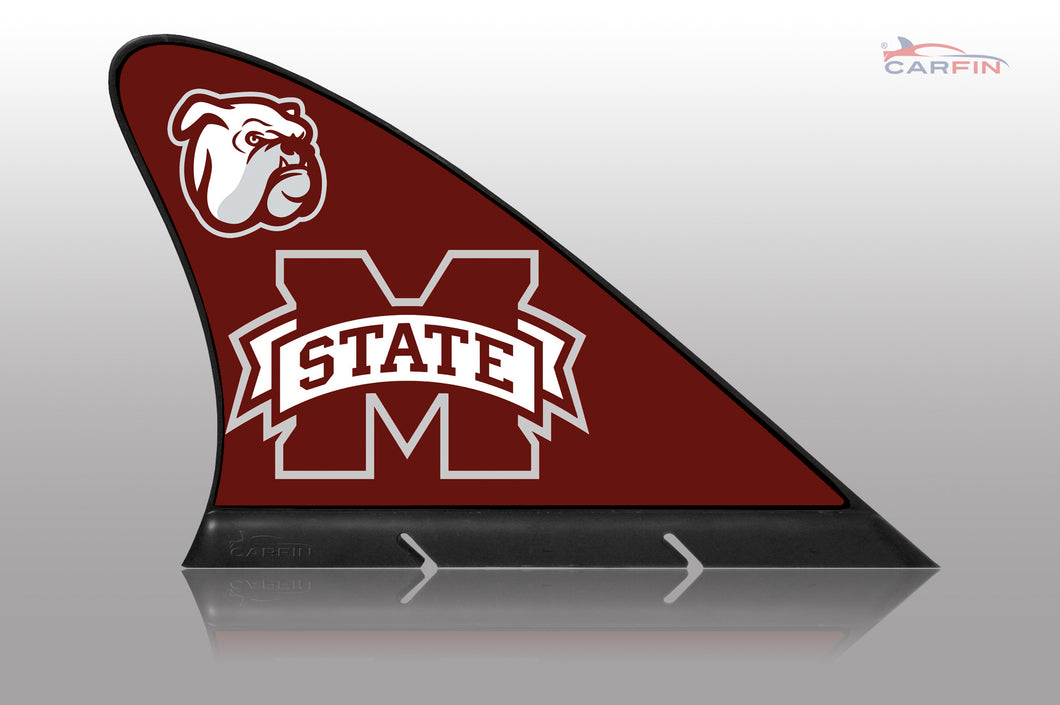 Copy of Mississippi State Bulldogs Car Flag, CARFIN  Magnetic Car Flag.