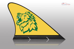 Missouri Southern Lions Car Flag, CARFIN  Magnetic Car Flag.