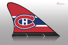 Montreal Canadiens Car Flag, CARFIN  Magnetic Car Flag.